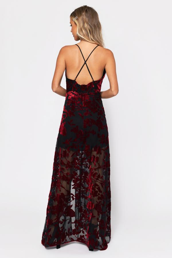 Cute Black Dress Velvet Dress Black Maxi Dress 38