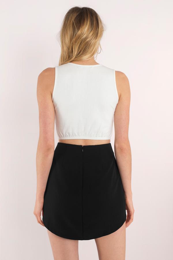 Cute Black Skirt - Mini Skirt - Black Skirt - $46.00