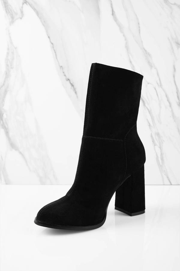 9cb0f1b07e157f ... Chinese Laundry Chinese Laundry Classic Black Suede Ankle Boots ...