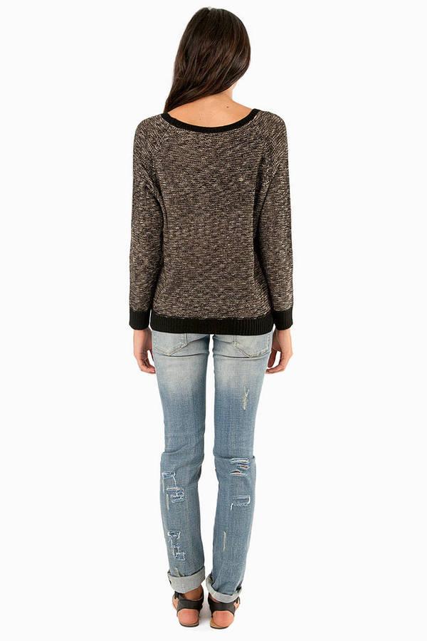 Marlena Marled Sweater