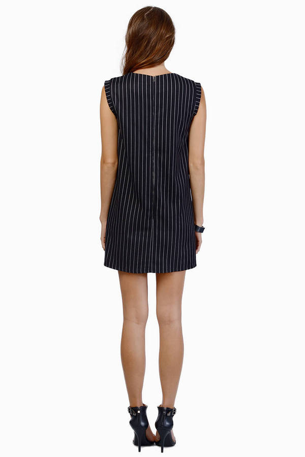 Line & Dot Criminal Dropwaist Dress