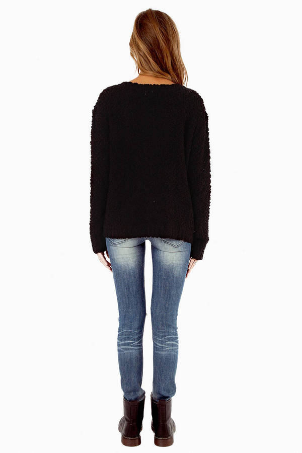 Cross Centered Sweater