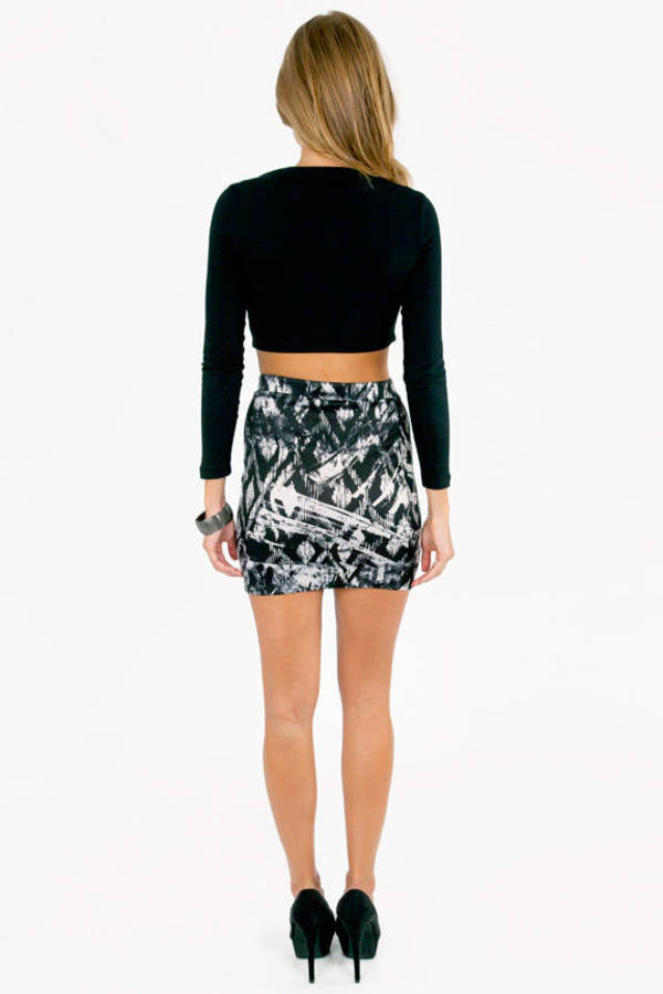 Distressed Painter Skirt