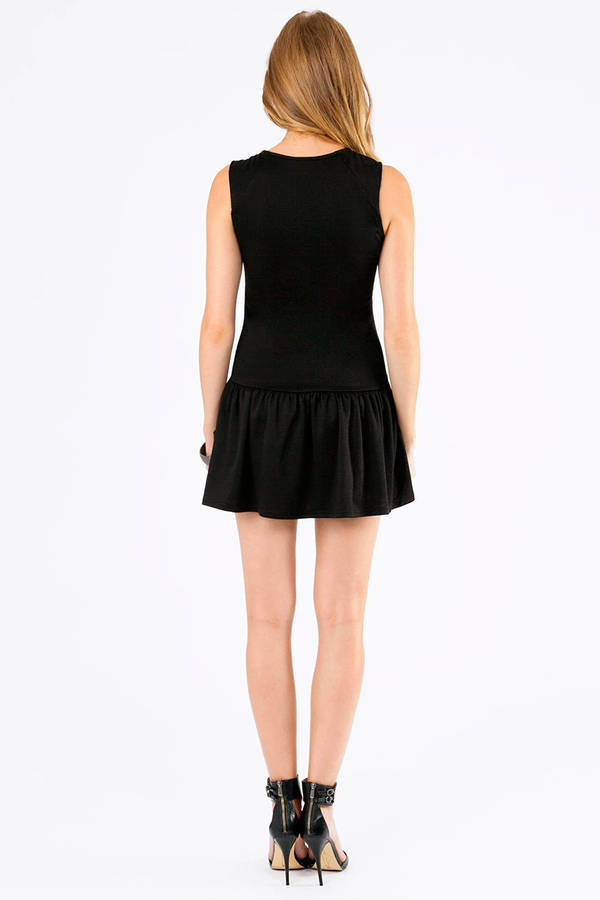 Dyna Drop Waist Dress