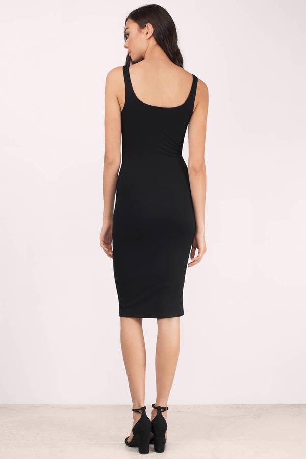 5082fcfb78 Black Bodycon Dress - Black Dress - Sleeveless Dress - Bodycon Dress ...