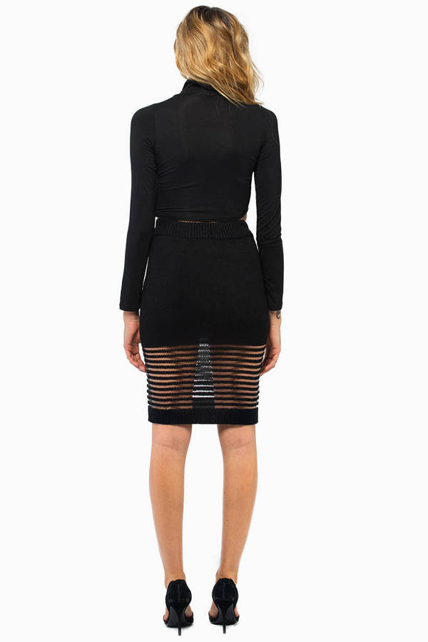 Rehab Clothing Electric Knit Skirt