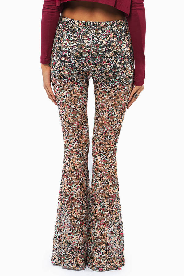 Finding Floral Flared Pants