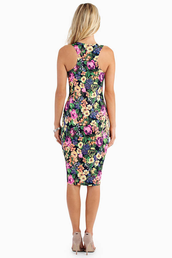 Just One Petal Tank Dress