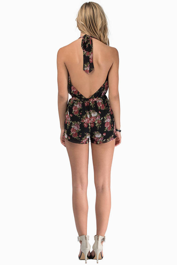 Once And Fleur All Romper
