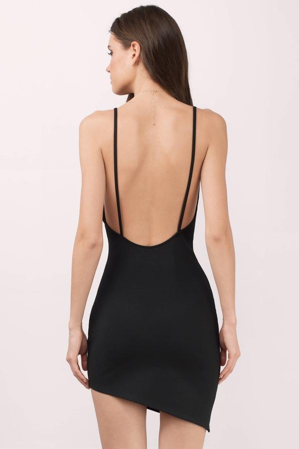 f25c85730e23 Sexy Black Dress - Open Back Dress - Stretch Dress - Bodycon Dress ...