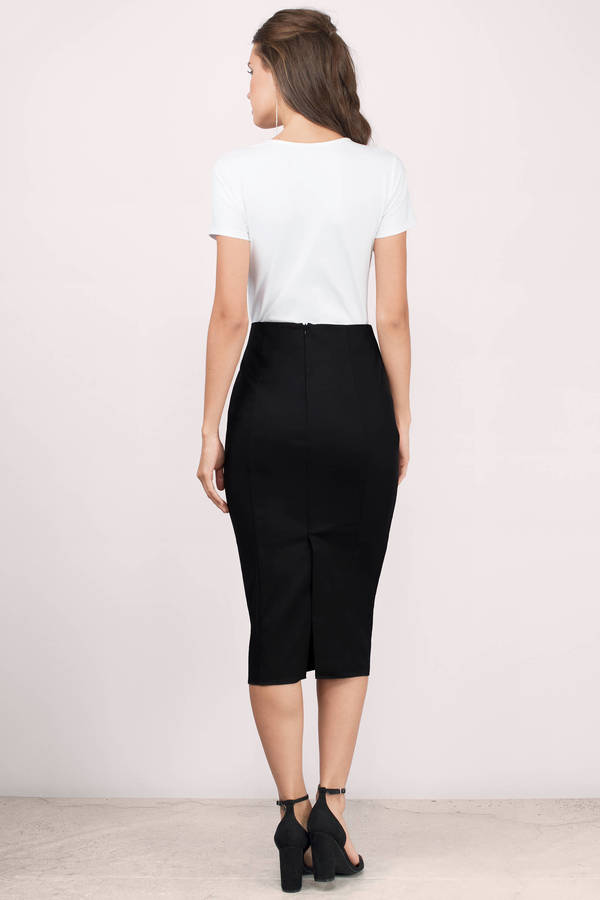 Sexy Black Skirt - Black Skirt - High Waisted Skirt - $23.00