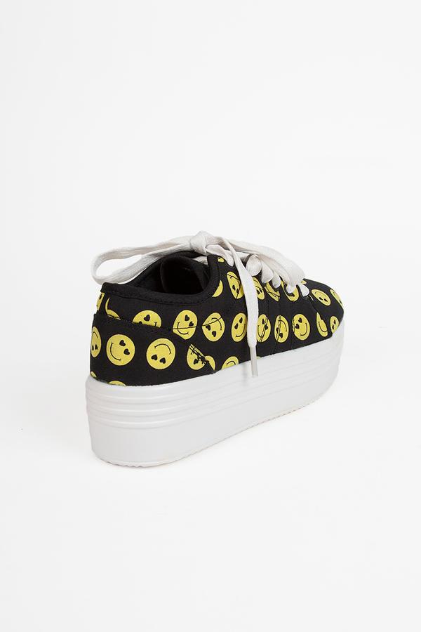 YRU Happy Sneakers