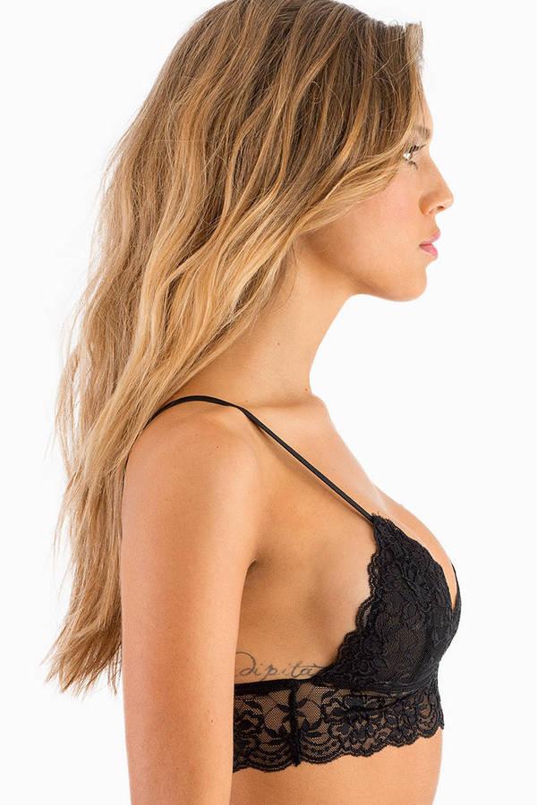 Keep It A Secret Lace Bralette