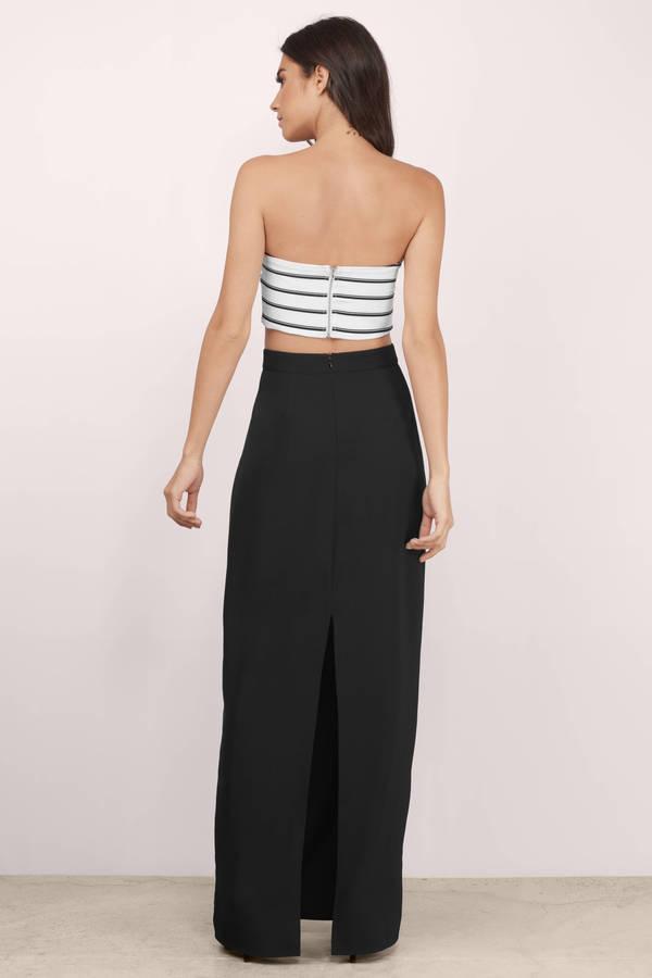 Trendy Black Skirt - High Waisted Skirt - Black Skirt - $58.00