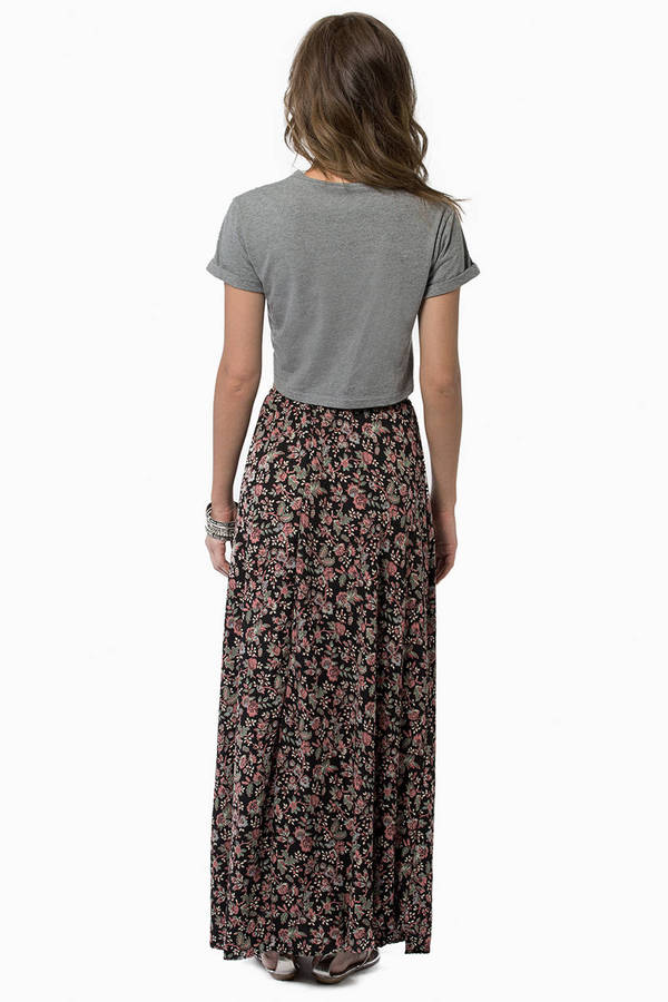 May Flowers Maxi Skirt