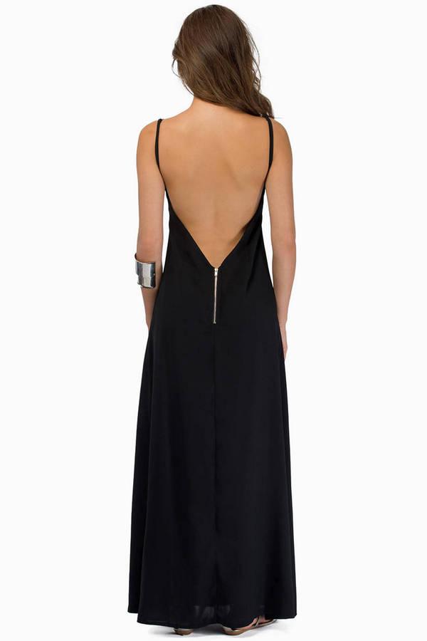 Midnight Talks Maxi Dress