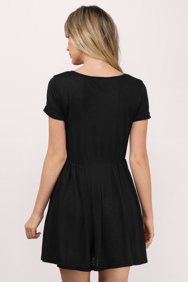 Cheap black day dresses