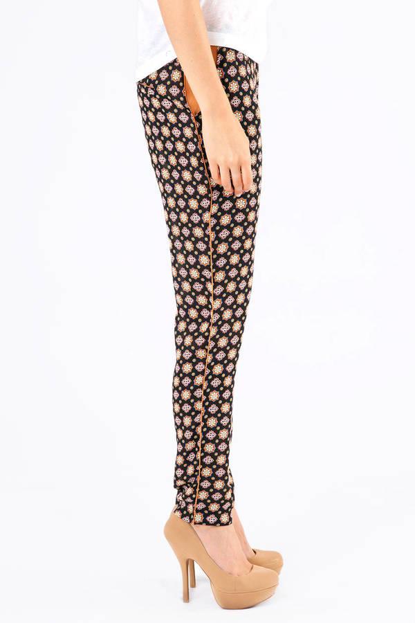 Modern Mosaic Harem Pants
