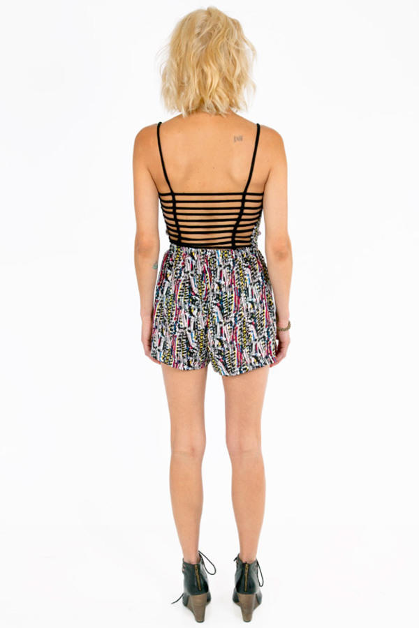 Multiple Tribes Strappy Romper