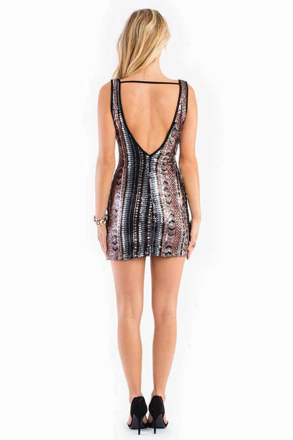 Sutter Street Sequin Dress