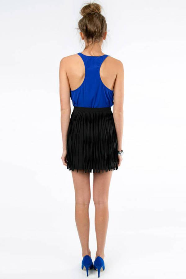 My Fringe Mini Skirt
