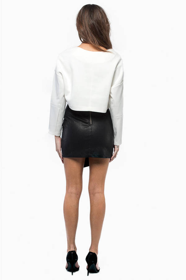 Origami Zip Skirt