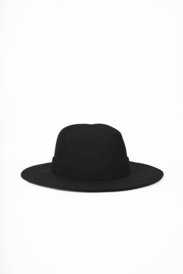 Oversized Wool Fedora Hat