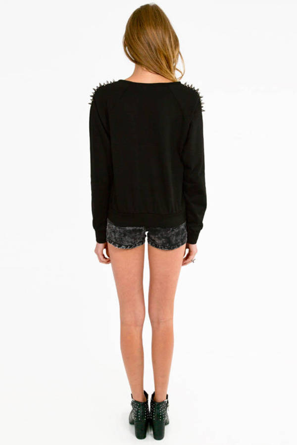 Quill Shoulder Sweater