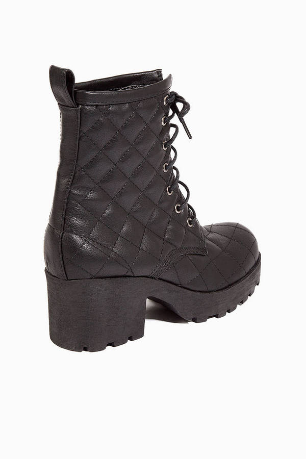 Quilted Steps Boots