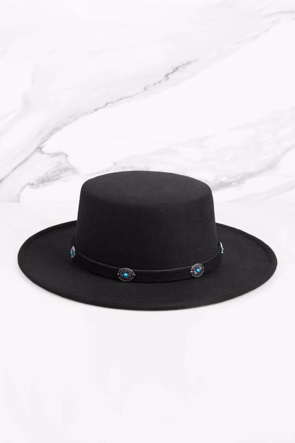3da5b64a Rebecca Black Wool Panama Hat - £16 | Tobi GB
