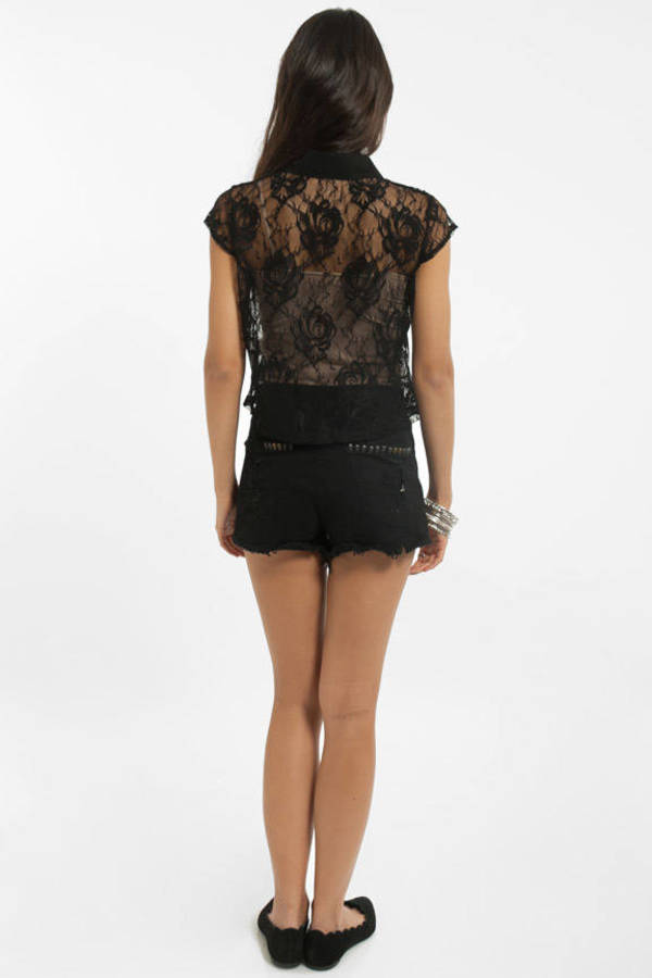 Rosy Lace Blouse