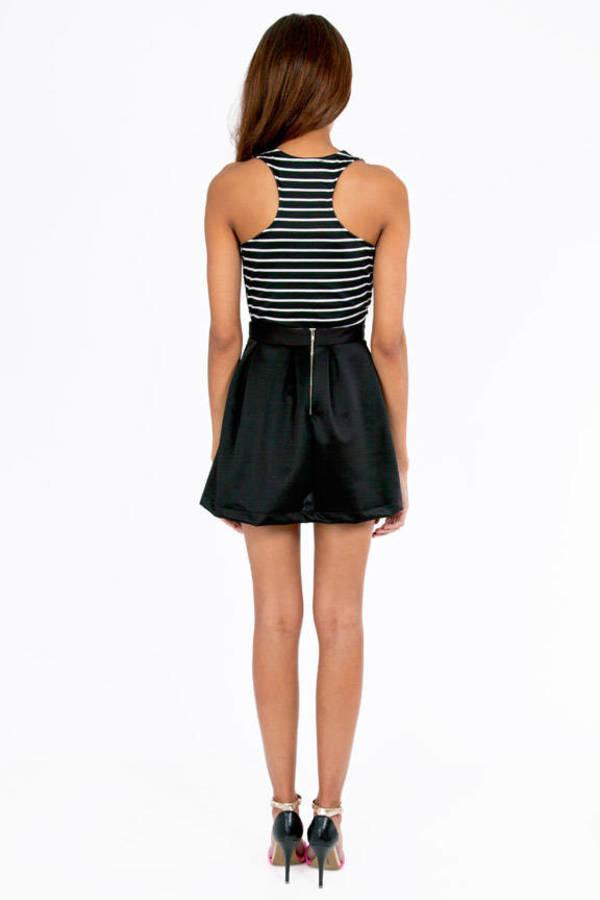 Scuba Flare Skirt