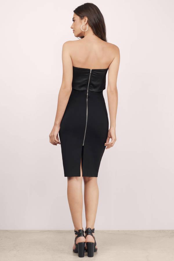 fde7f8d33f Cheap Black Bodycon Dress - Sleeveless Dress - Bodycon Dress - £9 ...