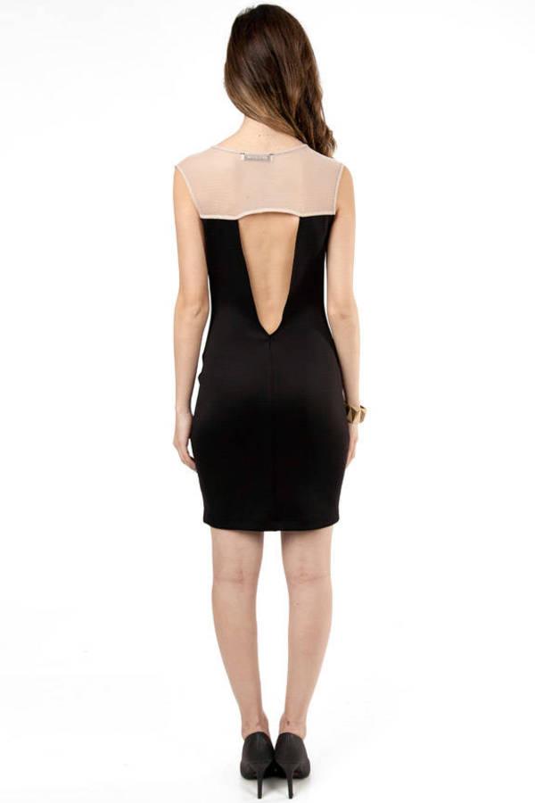 Stefani Deep V-Neck Bodycon Dress