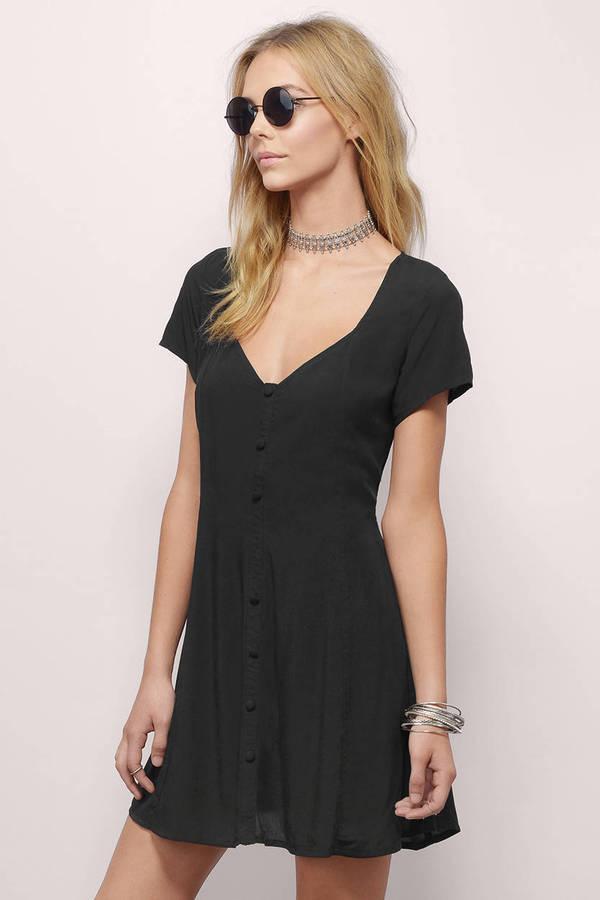 Sweetheart Black Dress