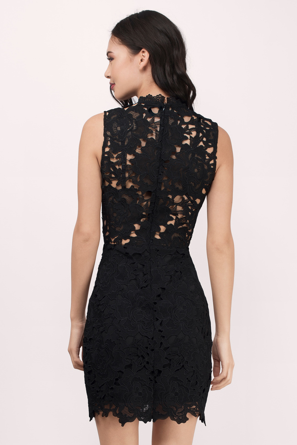 Lace Dress - Bubblegum Dress - Bodycon Dress - Beautiful Black Dress | Tobi