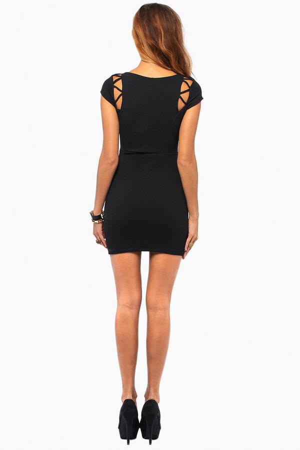 Tangled Web Bodycon Dress