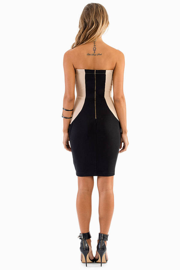Piece Out Bodycon Dress