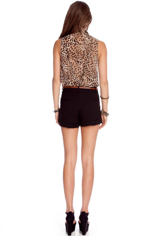 Tropic Belted Shorts