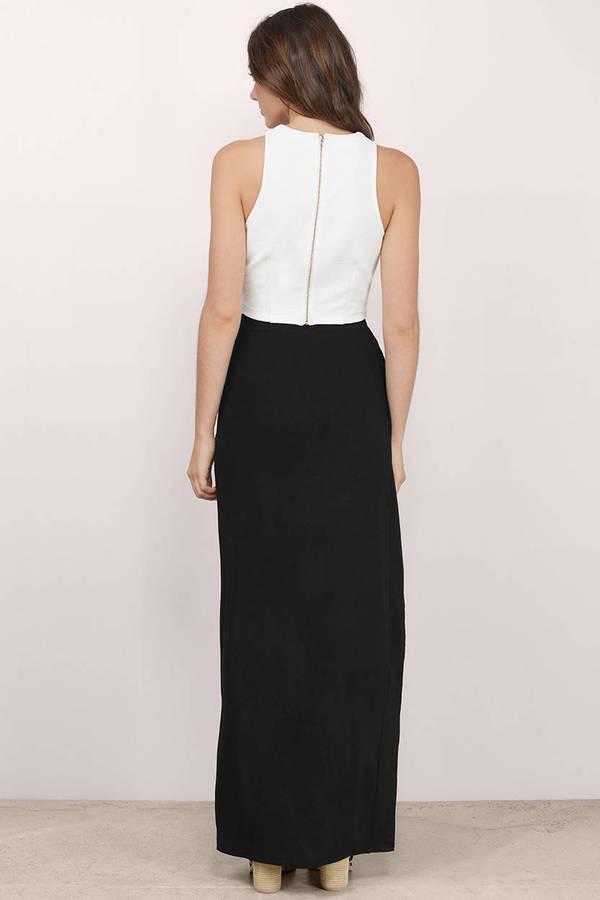 Trendy Black Skirt - High Slit Skirt - Black Skirt - $52.00