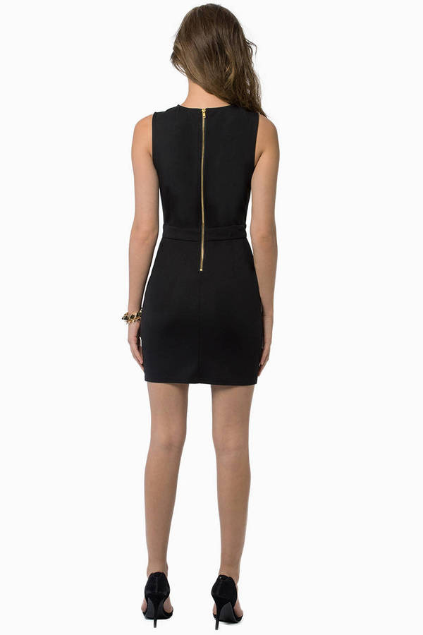 Vix Cutout Bodycon Dress