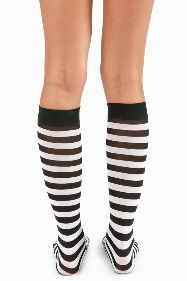 Alcatraz Knee High Socks