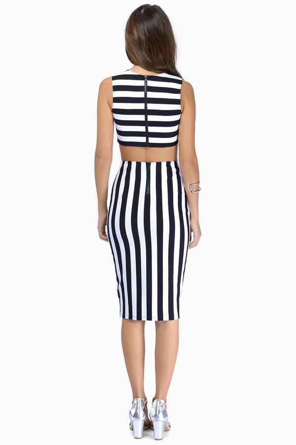 Earn Your Stripes Dress