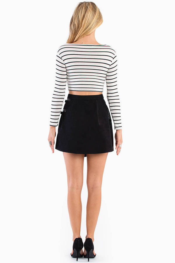 With Envy Side Strap Skirt