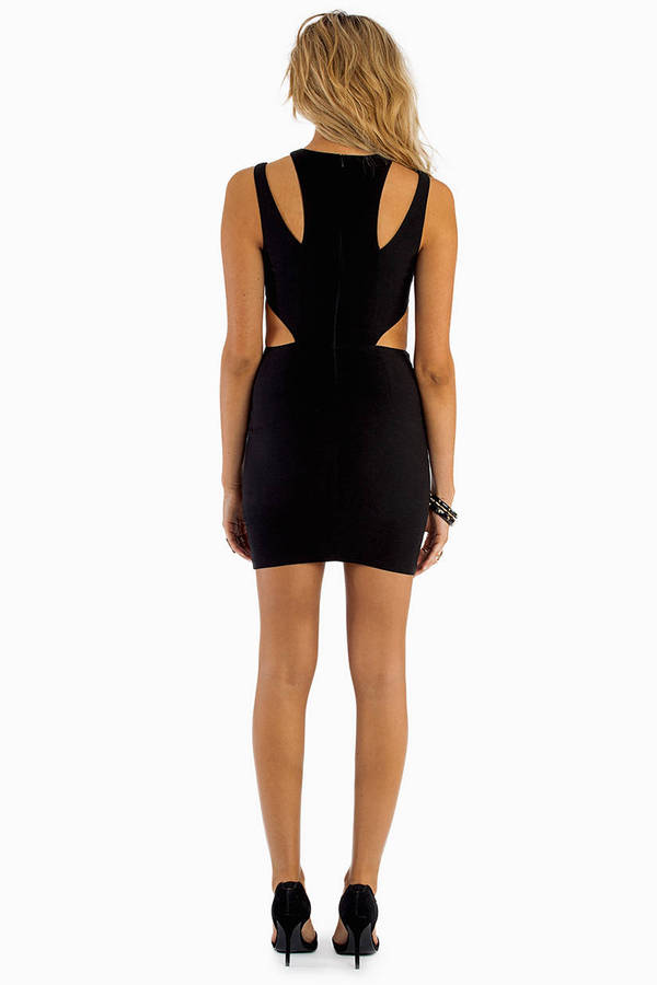 Yours Truly Cut Out Dress
