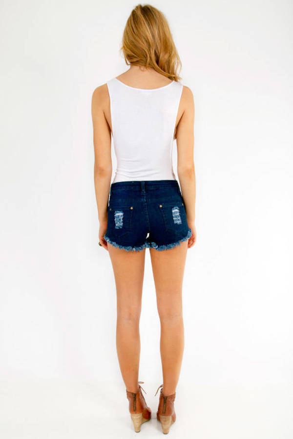 Reverse Americana Stud Shorts