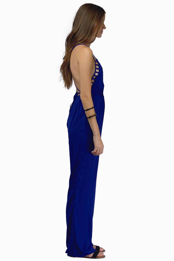Callie Cutout Cami Jumpsuit