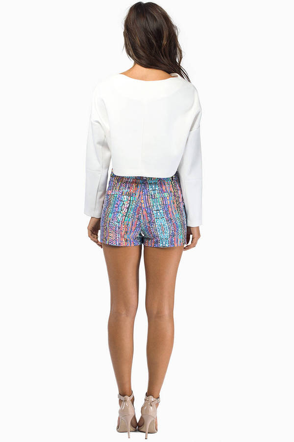 Colored Ways Shorts