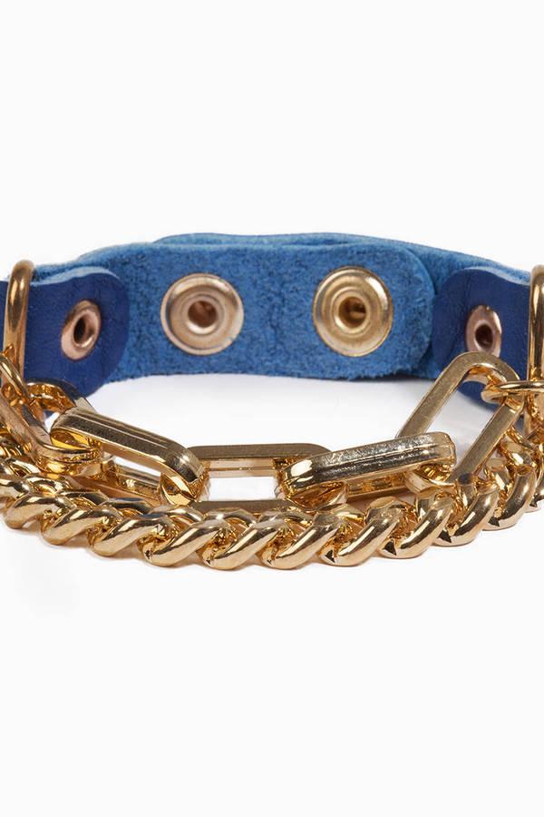 Cuff Chain Bracelet