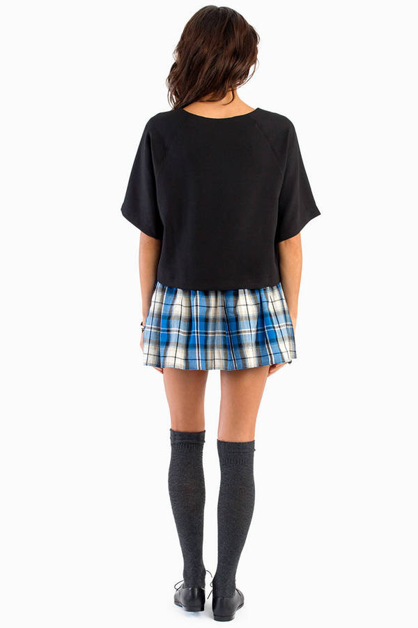 Flannel Frenzy Skirt